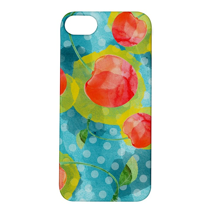 Red Cherries Apple iPhone 5S/ SE Hardshell Case