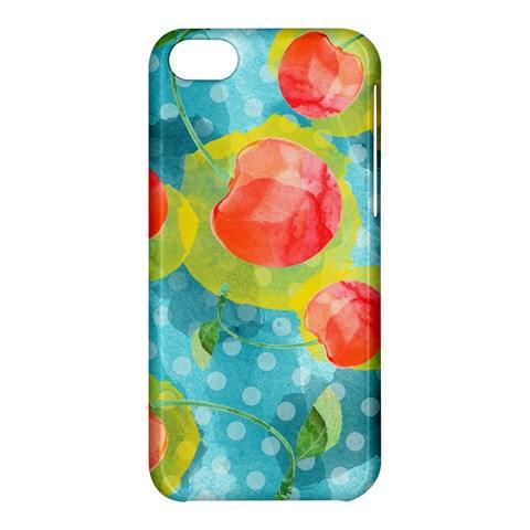 Red Cherries Apple iPhone 5C Hardshell Case