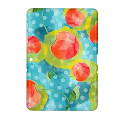 Red Cherries Samsung Galaxy Tab 2 (10 1 ) P5100 Hardshell Case