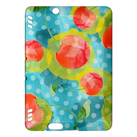Red Cherries Kindle Fire HDX Hardshell Case