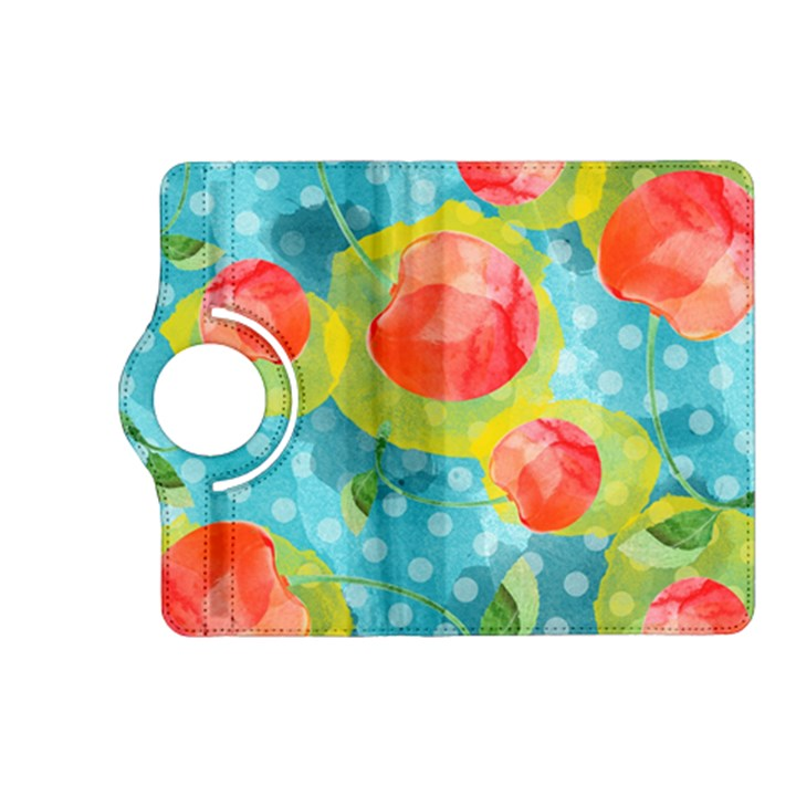 Red Cherries Kindle Fire HD (2013) Flip 360 Case