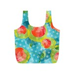 Red Cherries Full Print Recycle Bags (S)  Back