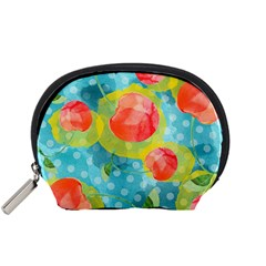Red Cherries Accessory Pouches (Small)