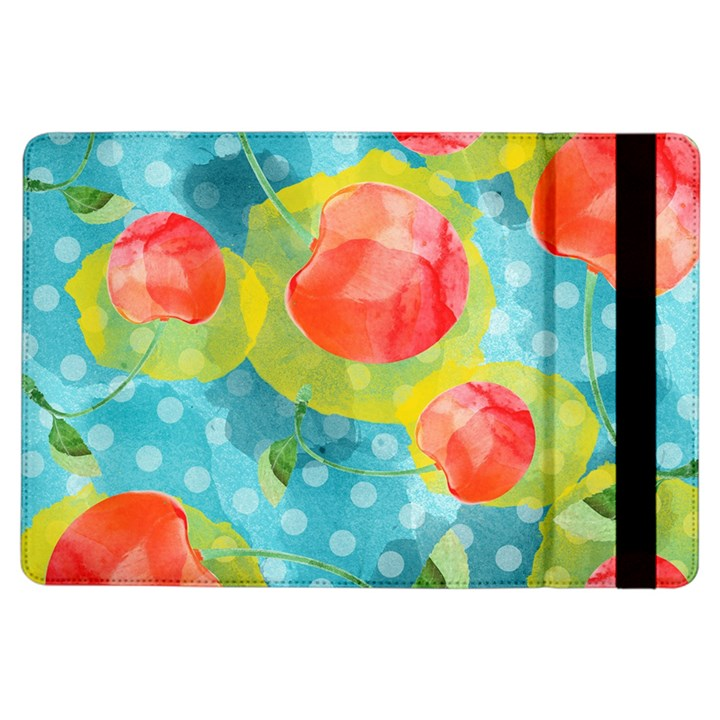 Red Cherries iPad Air Flip