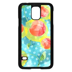 Red Cherries Samsung Galaxy S5 Case (black)