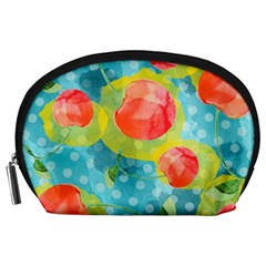 Red Cherries Accessory Pouches (Large)