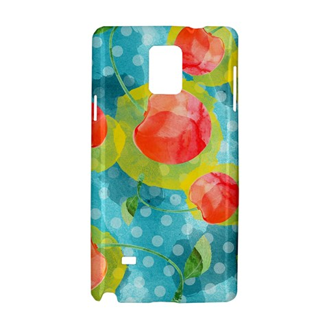 Red Cherries Samsung Galaxy Note 4 Hardshell Case