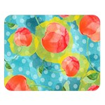 Red Cherries Double Sided Flano Blanket (Large)   Blanket Back
