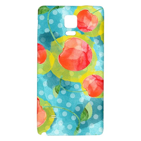 Red Cherries Galaxy Note 4 Back Case