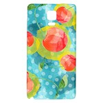 Red Cherries Galaxy Note 4 Back Case Front