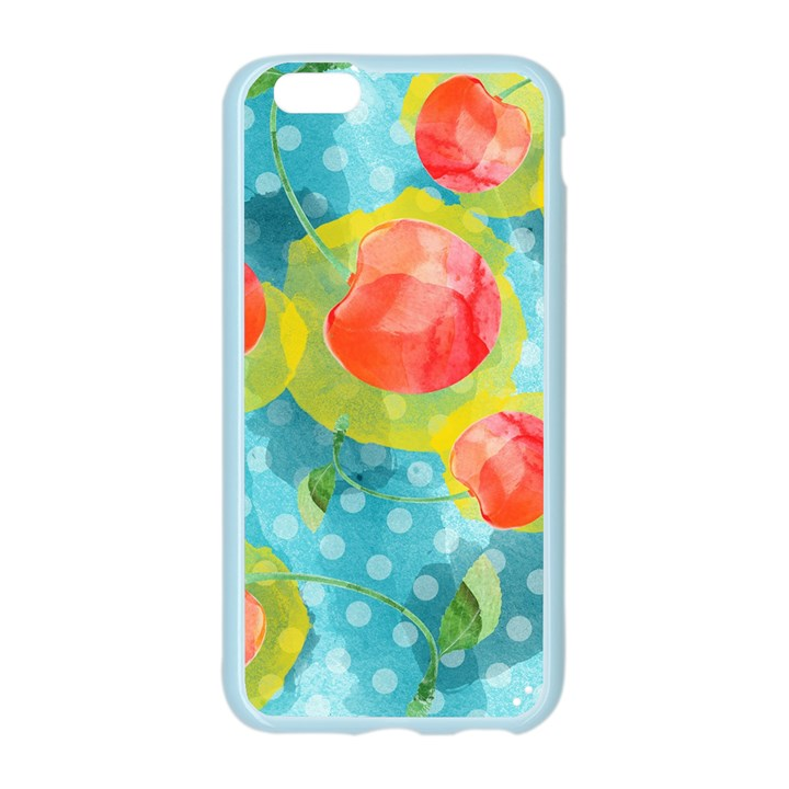 Red Cherries Apple Seamless iPhone 6/6S Case (Color)