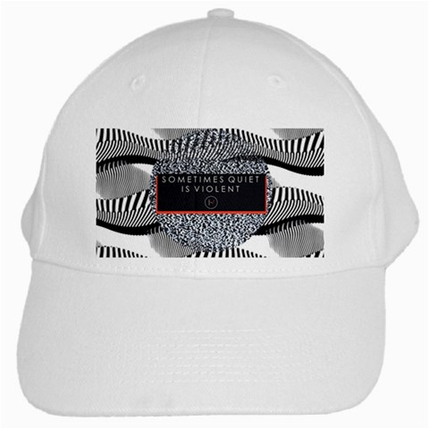 Sometimes Quiet Is Violent Twenty One Pilots The Meaning Of Blurryface Album White Cap
