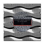 Sometimes Quiet Is Violent Twenty One Pilots The Meaning Of Blurryface Album Tile Coasters Front