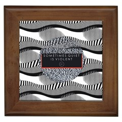 Sometimes Quiet Is Violent Twenty One Pilots The Meaning Of Blurryface Album Framed Tiles