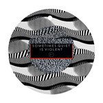 Sometimes Quiet Is Violent Twenty One Pilots The Meaning Of Blurryface Album Ornament (Round)  Front
