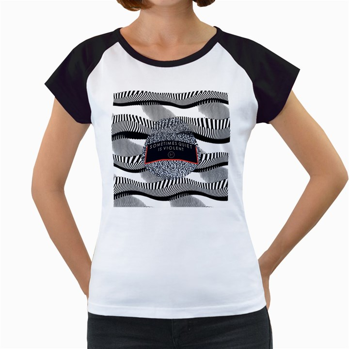Sometimes Quiet Is Violent Twenty One Pilots The Meaning Of Blurryface Album Women s Cap Sleeve T