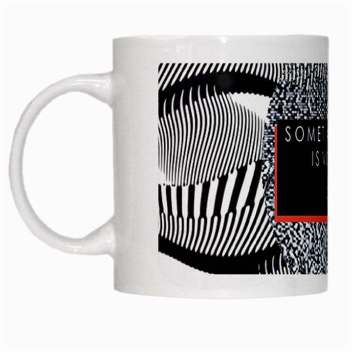 Sometimes Quiet Is Violent Twenty One Pilots The Meaning Of Blurryface Album White Mugs