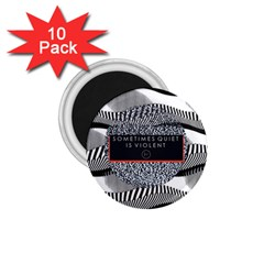 Sometimes Quiet Is Violent Twenty One Pilots The Meaning Of Blurryface Album 1 75  Magnets (10 Pack)