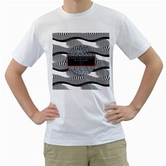 Sometimes Quiet Is Violent Twenty One Pilots The Meaning Of Blurryface Album Men s T Shirt (white) (two Sided)