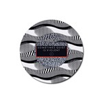 Sometimes Quiet Is Violent Twenty One Pilots The Meaning Of Blurryface Album Rubber Round Coaster (4 pack)  Front
