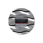 Sometimes Quiet Is Violent Twenty One Pilots The Meaning Of Blurryface Album Magnet 3  (Round) Front