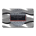 Sometimes Quiet Is Violent Twenty One Pilots The Meaning Of Blurryface Album Magnet (Rectangular) Front