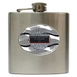 Sometimes Quiet Is Violent Twenty One Pilots The Meaning Of Blurryface Album Hip Flask (6 oz) Front