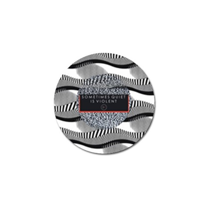 Sometimes Quiet Is Violent Twenty One Pilots The Meaning Of Blurryface Album Golf Ball Marker