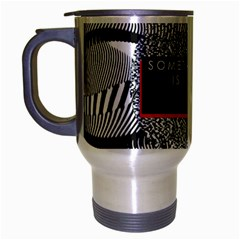 Sometimes Quiet Is Violent Twenty One Pilots The Meaning Of Blurryface Album Travel Mug (silver Gray)