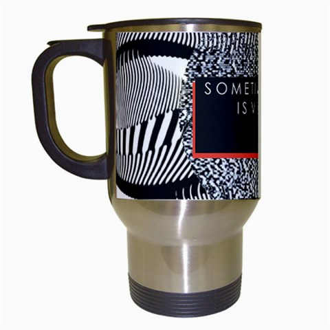 Sometimes Quiet Is Violent Twenty One Pilots The Meaning Of Blurryface Album Travel Mugs (White)