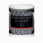 Sometimes Quiet Is Violent Twenty One Pilots The Meaning Of Blurryface Album Morph Mugs Center