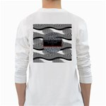 Sometimes Quiet Is Violent Twenty One Pilots The Meaning Of Blurryface Album White Long Sleeve T-Shirts Back