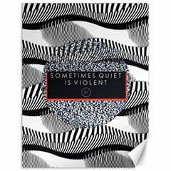 Sometimes Quiet Is Violent Twenty One Pilots The Meaning Of Blurryface Album Canvas 18  x 24