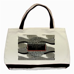 Sometimes Quiet Is Violent Twenty One Pilots The Meaning Of Blurryface Album Basic Tote Bag (two Sides)