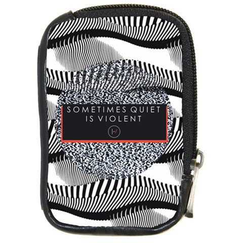 Sometimes Quiet Is Violent Twenty One Pilots The Meaning Of Blurryface Album Compact Camera Cases