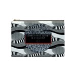 Sometimes Quiet Is Violent Twenty One Pilots The Meaning Of Blurryface Album Cosmetic Bag (Medium)  Front