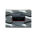Sometimes Quiet Is Violent Twenty One Pilots The Meaning Of Blurryface Album Cosmetic Bag (Medium)  Back