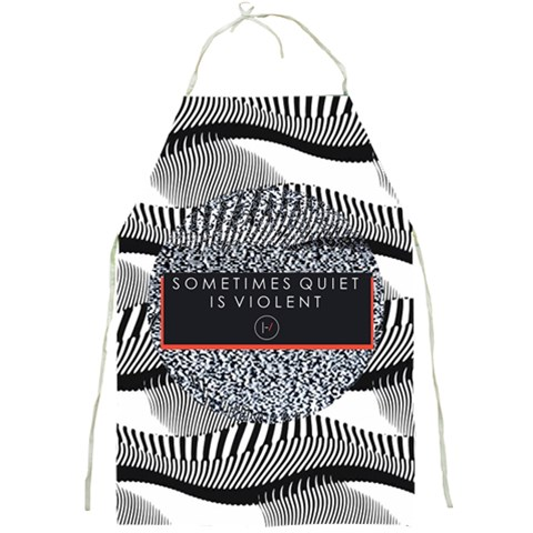 Sometimes Quiet Is Violent Twenty One Pilots The Meaning Of Blurryface Album Full Print Aprons