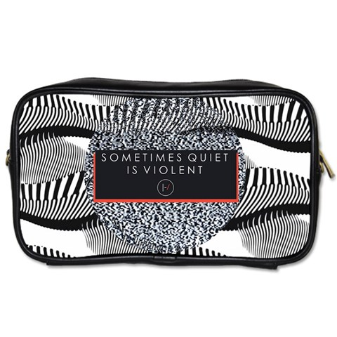 Sometimes Quiet Is Violent Twenty One Pilots The Meaning Of Blurryface Album Toiletries Bags