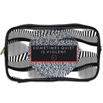 Sometimes Quiet Is Violent Twenty One Pilots The Meaning Of Blurryface Album Toiletries Bags 2-Side Back