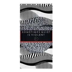 Sometimes Quiet Is Violent Twenty One Pilots The Meaning Of Blurryface Album Shower Curtain 36  X 72  (stall)