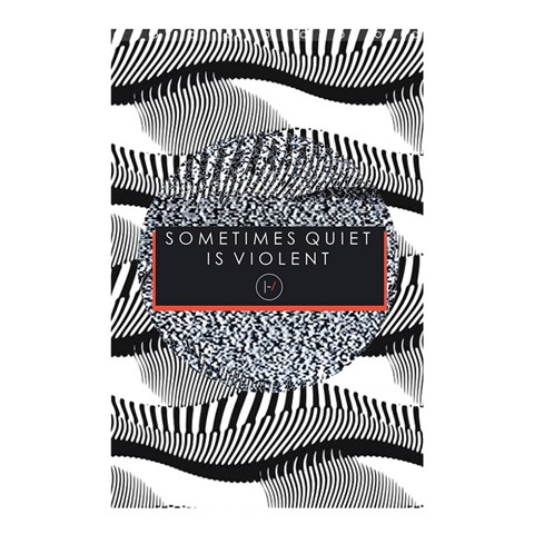 Sometimes Quiet Is Violent Twenty One Pilots The Meaning Of Blurryface Album Shower Curtain 48  x 72  (Small)