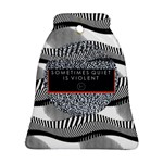 Sometimes Quiet Is Violent Twenty One Pilots The Meaning Of Blurryface Album Ornament (Bell)  Front