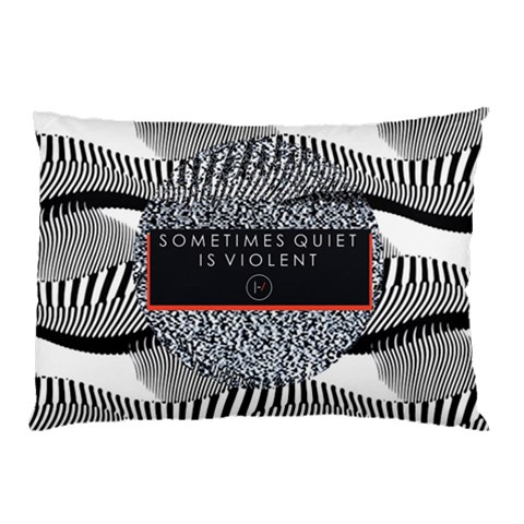 Sometimes Quiet Is Violent Twenty One Pilots The Meaning Of Blurryface Album Pillow Case (Two Sides)