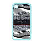 Sometimes Quiet Is Violent Twenty One Pilots The Meaning Of Blurryface Album Apple iPhone 4 Case (Color) Front