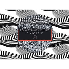 Sometimes Quiet Is Violent Twenty One Pilots The Meaning Of Blurryface Album Birthday Cake 3D Greeting Card (7x5)