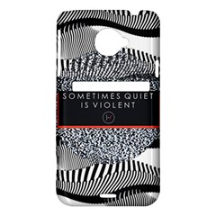 Sometimes Quiet Is Violent Twenty One Pilots The Meaning Of Blurryface Album HTC Evo 4G LTE Hardshell Case