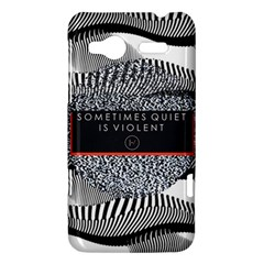 Sometimes Quiet Is Violent Twenty One Pilots The Meaning Of Blurryface Album HTC Radar Hardshell Case