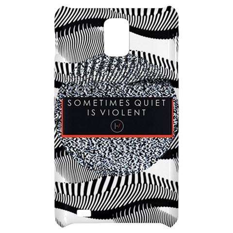 Sometimes Quiet Is Violent Twenty One Pilots The Meaning Of Blurryface Album Samsung Infuse 4G Hardshell Case