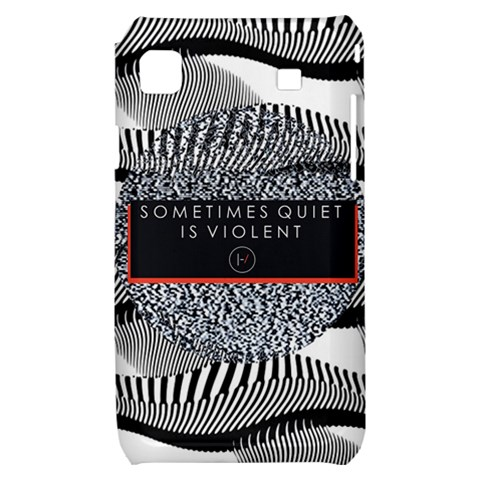 Sometimes Quiet Is Violent Twenty One Pilots The Meaning Of Blurryface Album Samsung Galaxy S i9000 Hardshell Case